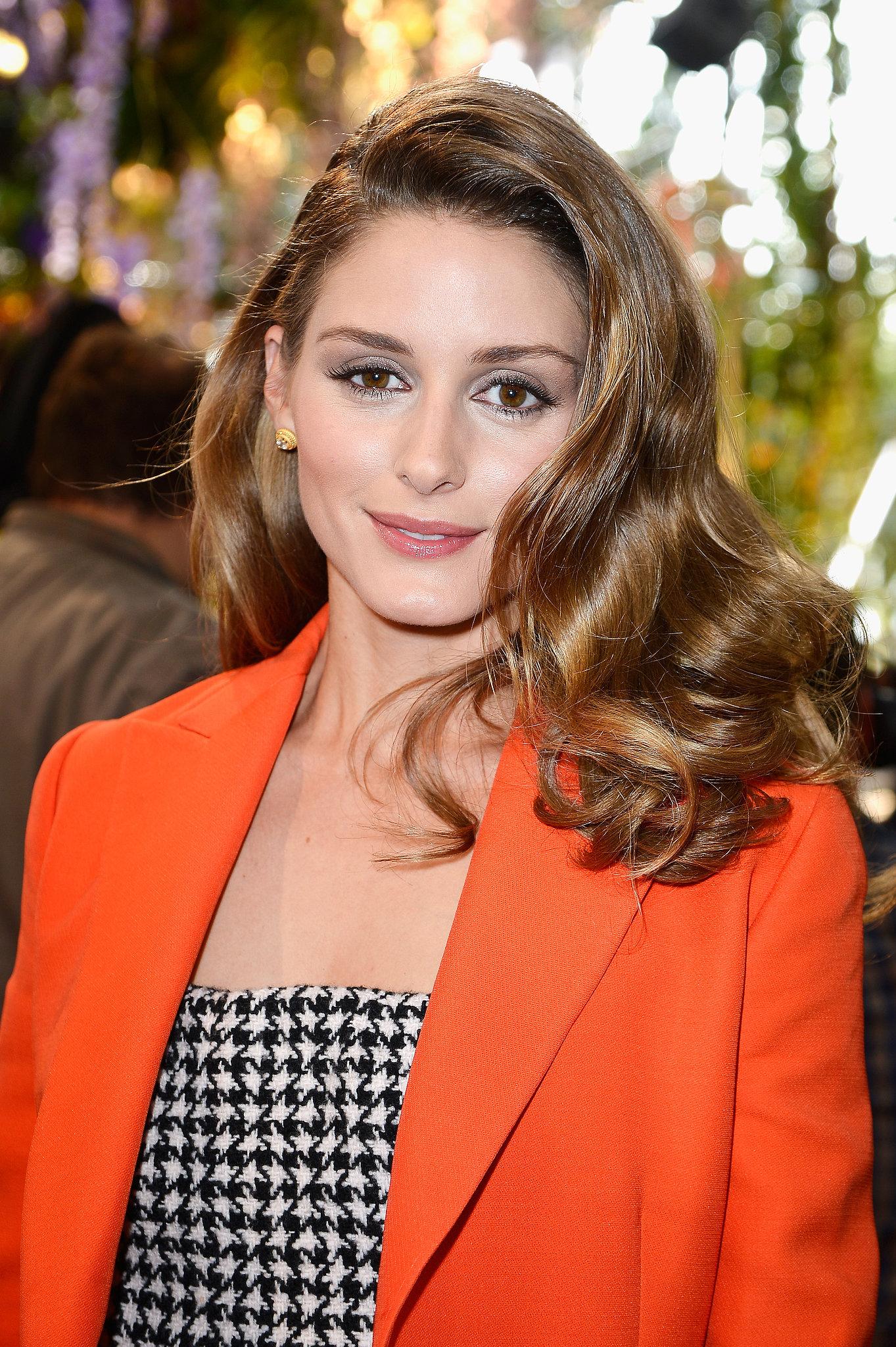 Olivia Palermo at Christian Dior Spring 2014.