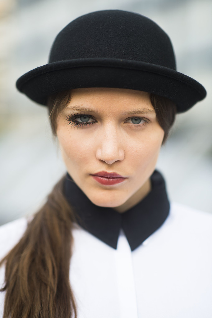 Is anyone else so excited that this girl has made A Clockwork Orange chic? Source: Le 21ème   Adam Katz Sinding