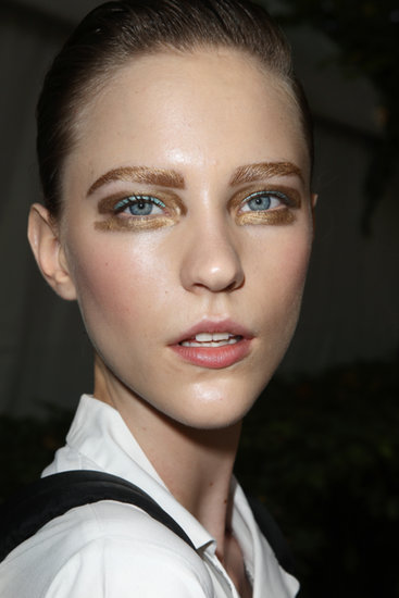 Dior Adds Some Sparkle With Gilded Eyes