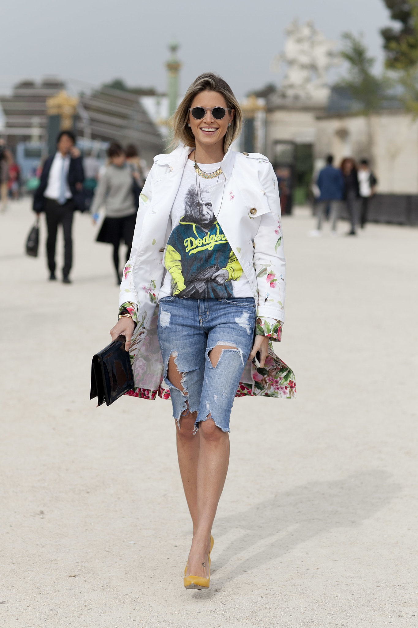 Cutoffs have their place at Fashion Week, alongside some killer add-ons.