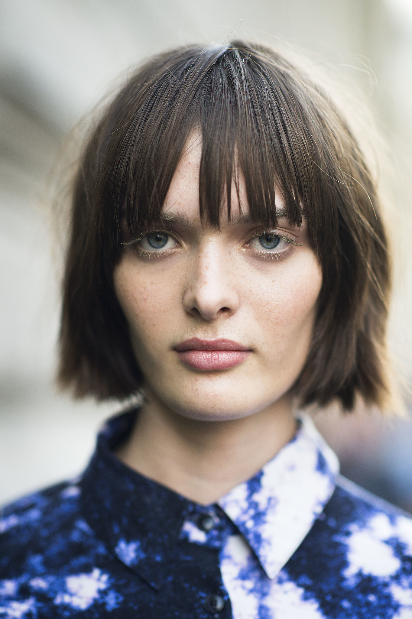 It seems even Parisian ladies have jumped on the blunt bob trend for Fall. Source: Le 21ème | Adam Katz Sinding