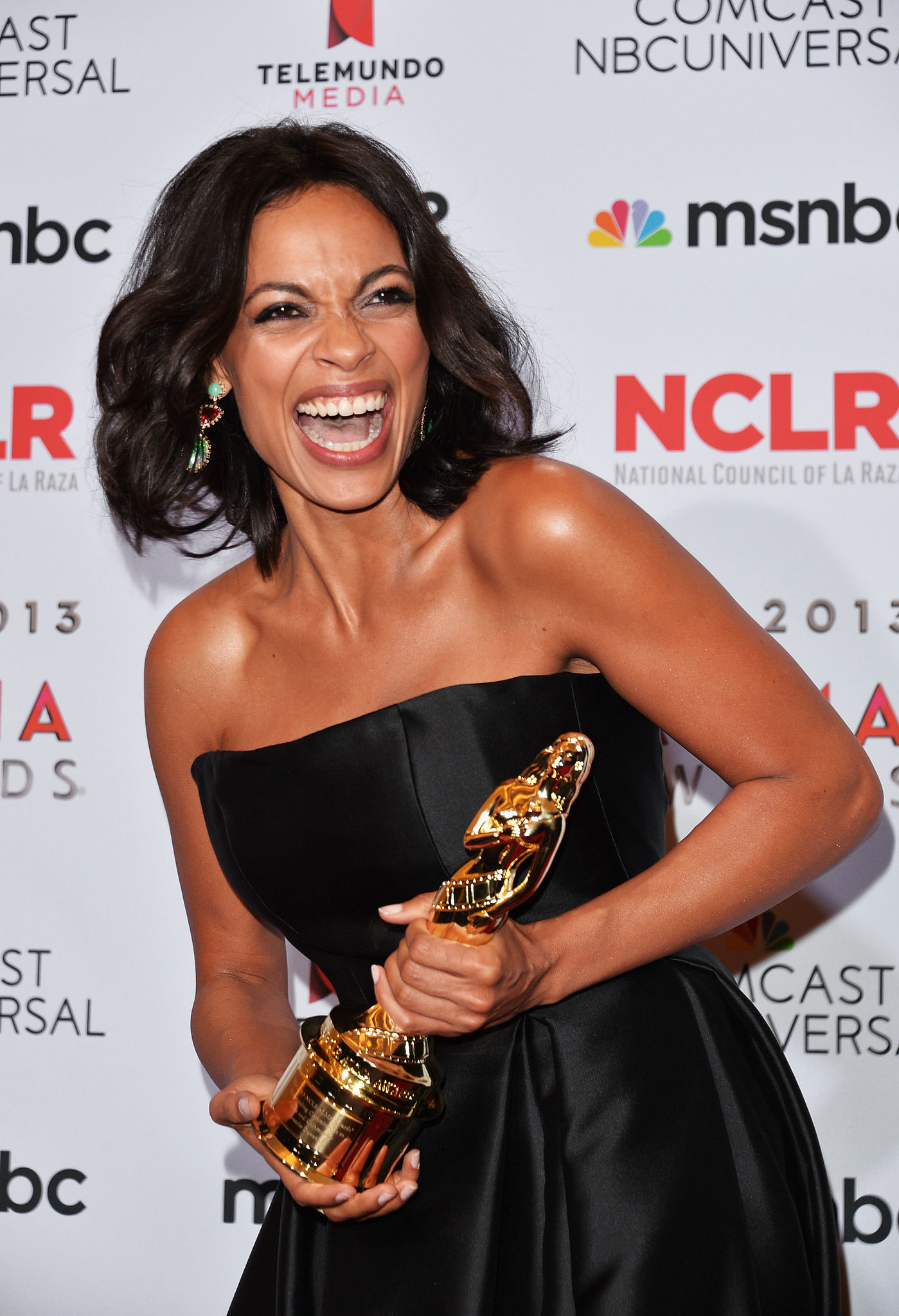 Rosario Dawson was honored at the 2013 ALMA Awards.
