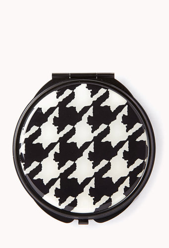 FOREVER 21 Retro Houndstooth Mirror Compact