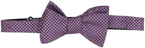 James Campbell Men's Houndstooth Bow Tie