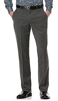 Perry Ellis® Men's Slate Herringbone Striped Pant