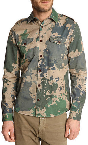 CLOSED - Marshall Camouflage Check Shirt