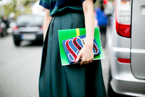 The most charming kind of clutch.