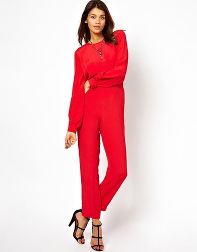 ASOS Simple Jumpsuit with Long Sleeves