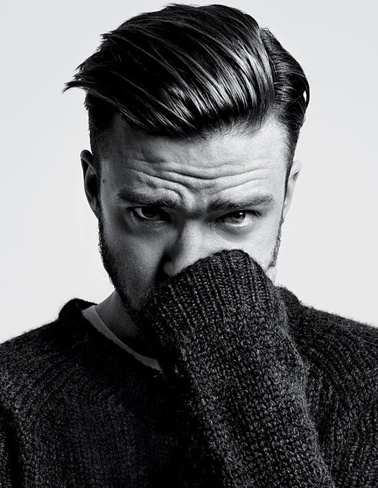 Justin Timberlake made a sexy appearance in T, The New York Times Style Magazine in early September, and the singer/actor opened up about his career in music and film. Source: Hedi Slimane/T, The New York Times Style Magazine