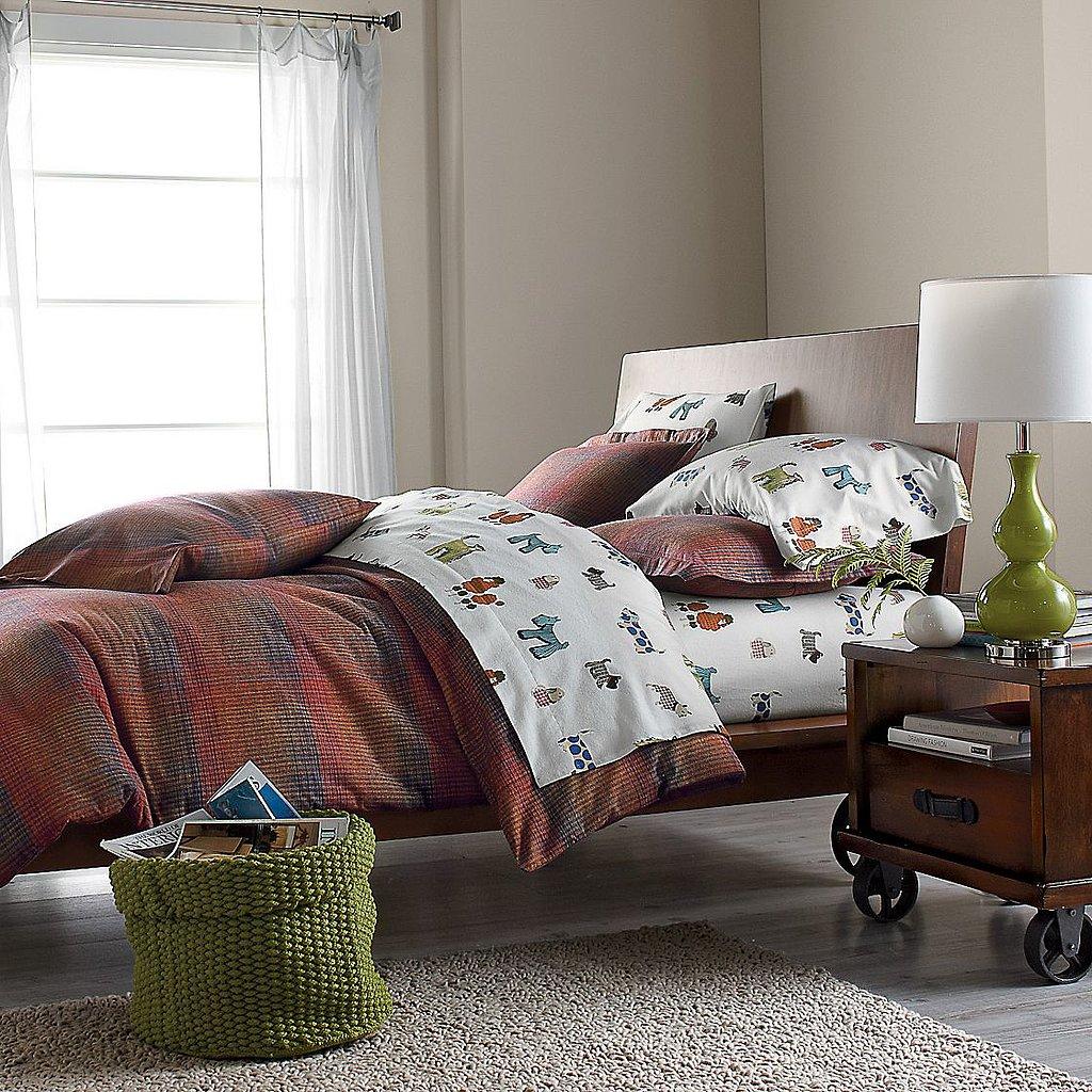 The Company Store Doggie Flannel Bedding
