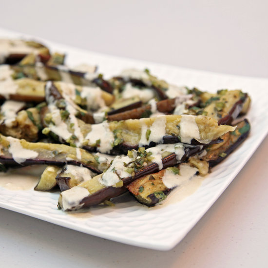 Marinated Eggplant With Tahini