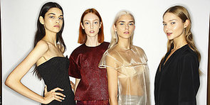 Kinked Hair & Pale Lids at Ellery's Paris Fashion Week Debut