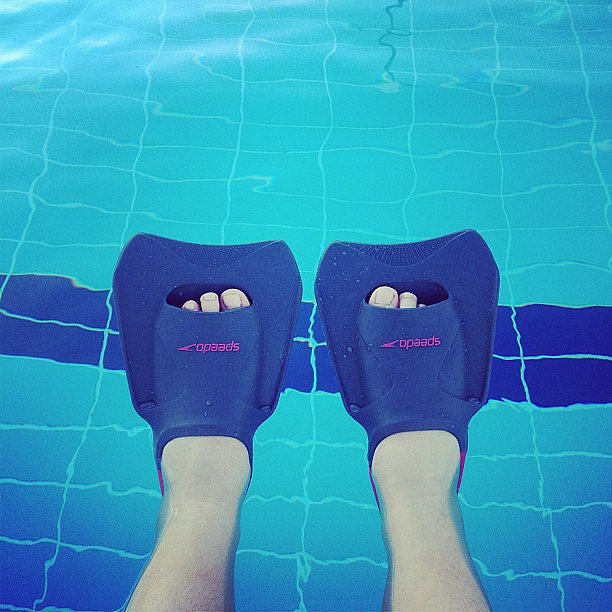 Who's hit the pool yet this Spring? Source: Instagram user popsugarau