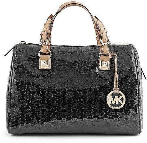 Bowling Bag GRAYSON von Michael Kors in schwarz für Damen. Gr. 1