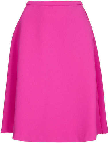 Heavy Crepe Full Skirt