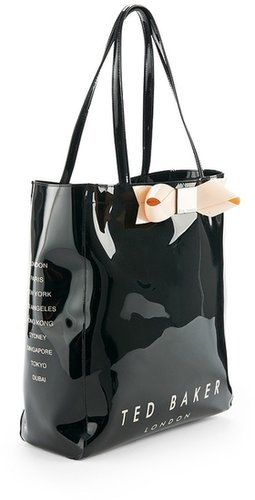 Ted Baker Bow Shopper Icon Bag