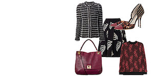 Berry Bags and Scary Skirts: Our October Fashion Must Haves