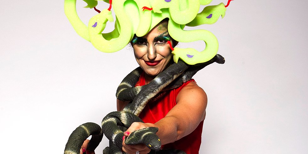 From Mom to Medusa: A Halloween Makeover by Chris March