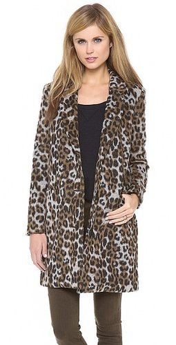 Bb dakota Hazel Leopard Coat