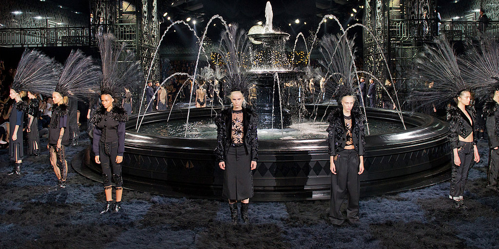 Louis Vuitton Spring 2014: Marc Jacobs Fades to Black