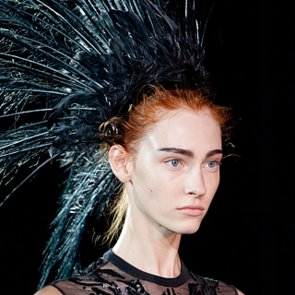 Louis Vuitton Spring 2014 Hair and Makeup | Runway Pictures