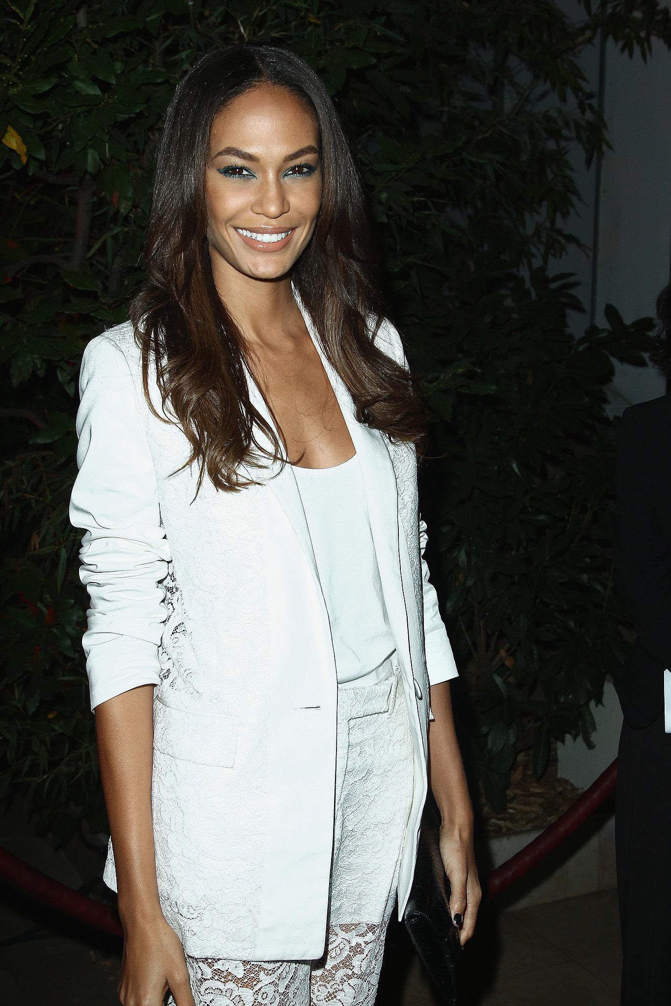Joan Smalls at the Mademoiselle C Cocktail Party