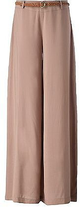 Tall 35in Belted Wide Leg Trousers
