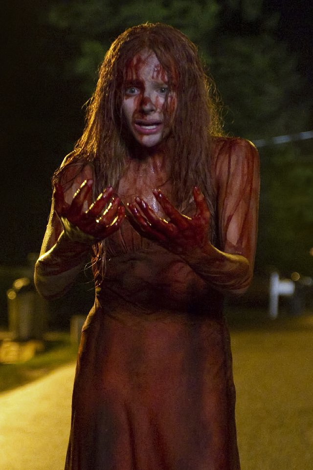 Carrie Stephen King's classic horror novel gets an updated big-screen version starring Chloë Moretz as telekinetic Carrie White and Julianne Moore as her fanatical mother. The trailer alone has me freaked, and I can't wait to scream though the iconic prom sequence. The movie opens in wide release on Oct. 18.