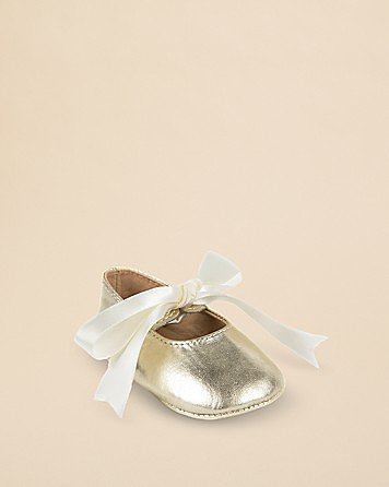 Ralph Lauren Infant Briley Metallic Ballet Flats