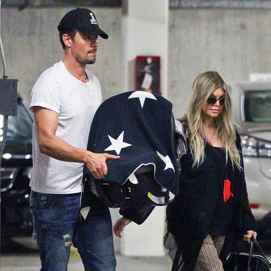 Fergie and josh duhamel take Axl Out
