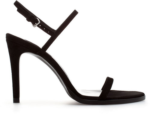 Suede Strappy Sandal