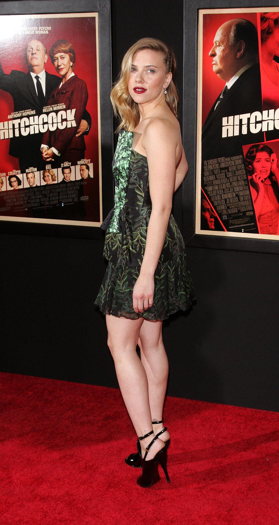 Scarlett Johansson at the Hitchcock NY premiere, 2012