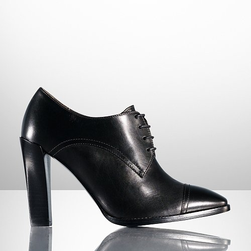 Ralph Lauren Narcissa Calf Oxford Bootie