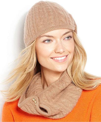 Lauren Ralph Lauren Hat, Cashmere Military Cloche