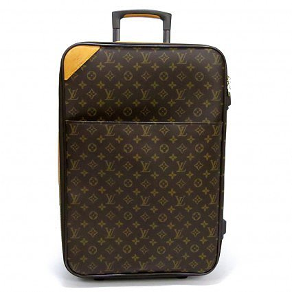 excellent (EX) Louis Vuitton Monogram Pegase 60 Rolling Suitcase