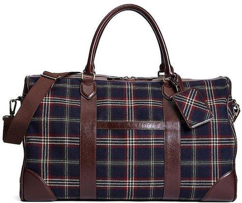 Signature Tartan Duffle Bag