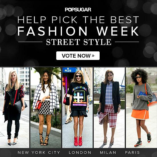Fashion Week Street Style Game | Spring 2014