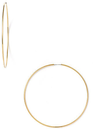 Nordstrom Endless Oversized Hoop Earrings