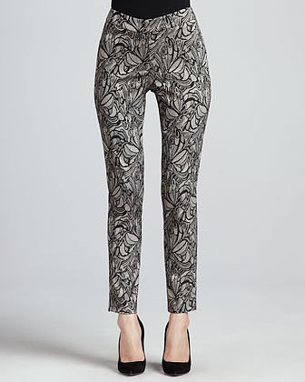 Berek New Lace Skinny Ankle Pants