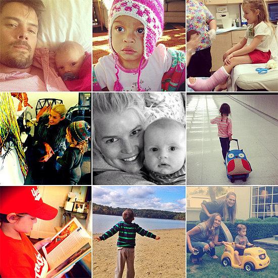 Celebrity Moms' Instagram Pictures Week of Oct. 5, 2013