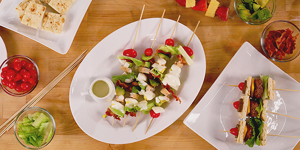 From Dinner to Dessert, How to Serve Your Entire Meal on a Stick