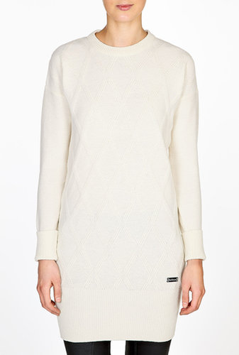 Barbour Snow White Dever Longline Jumper