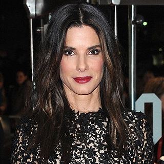 Celebrity Beauty Tips: Sandra Bullock Red Lipstick In London