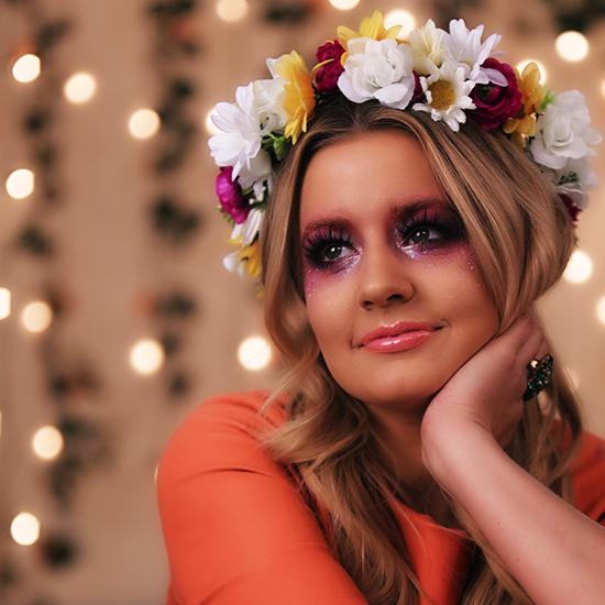 fairy makeup tutorial green purple share this link hair makeup nails - Fairy Halloween Makeup Ideas
