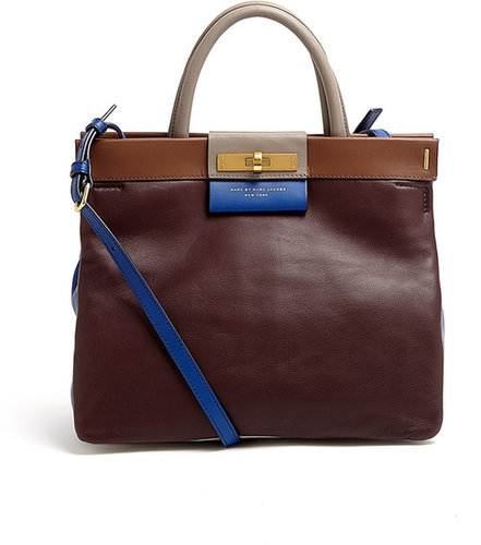 Marc by Marc Jacobs Madame Hilli East End Colourblock Tote