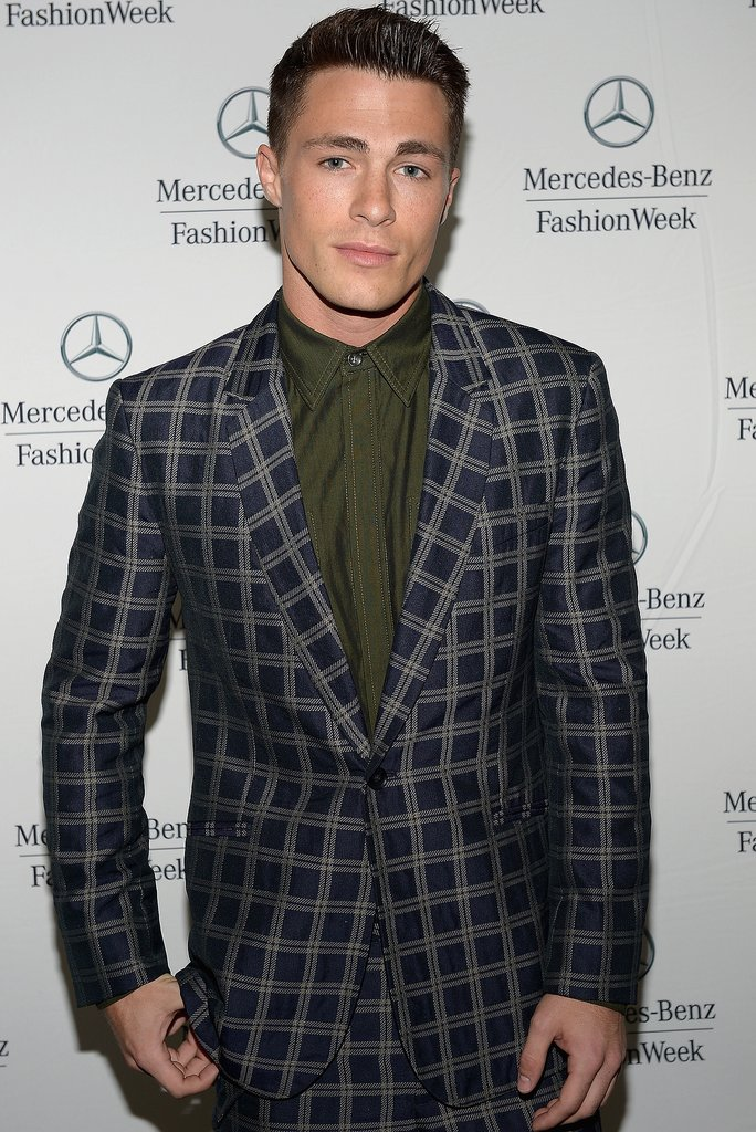 Colton Haynes Teen Wolf and Arrow star Haynes has the kind of face that a 21-year-old girl would swoon over. He's even lesser known than Hunnam is, but his fan base isn't any less passionate.