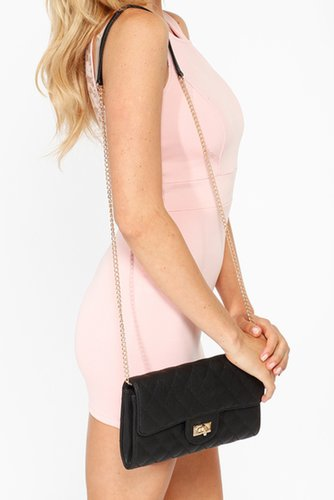 Designer Inspired Quilted Clutch