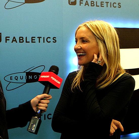Kate Hudon Fabletics Athletic Wear & Kate Hudson Fitness