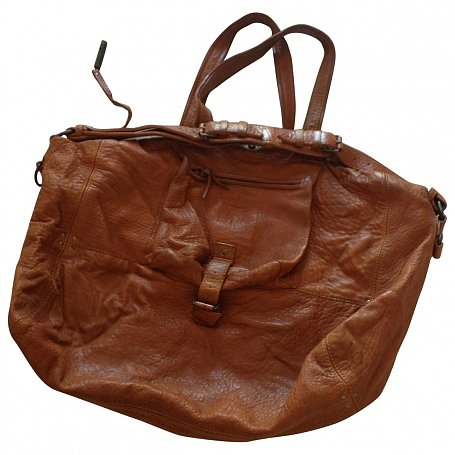 "Jerome Dreyfuss ""Billy"" Bag, Large Model, In Leather"