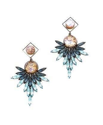 Add a new pair of Dannijo statement earrings ($263, originally $350) to your jewelry box.
